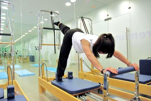 Pilates máquinas