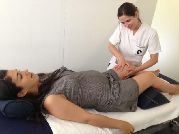 Edema en el embarazo: Masaje o Drenaje linfático en piernas