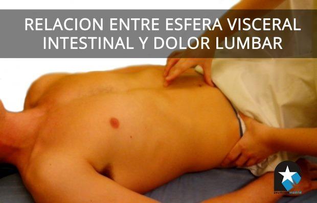 Relación entre esfera visceral intestinal y dolor lumbar