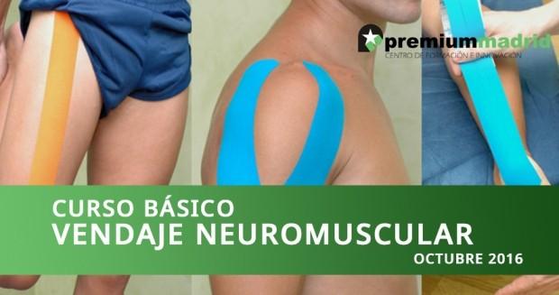Curso básico de vendaje neuromuscular – Octubre 2016