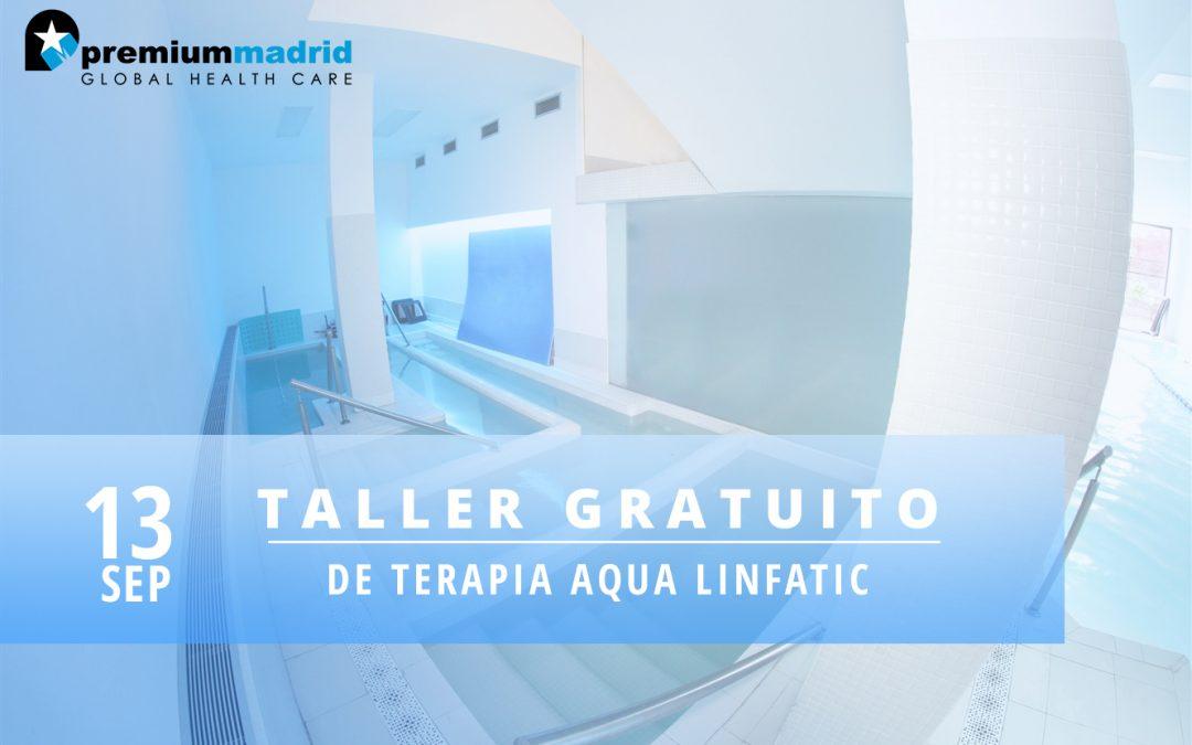 Taller de Terapia Aqua Linfatic: Método TIDHAR®