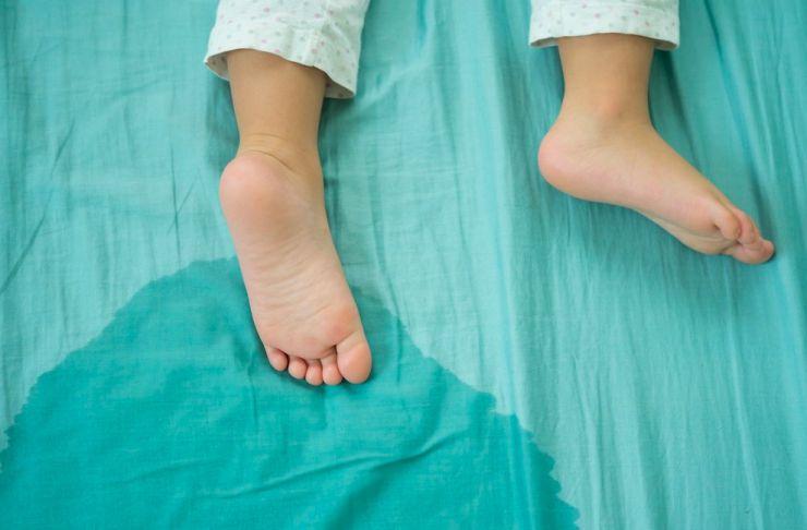 Enuresis infantil: Mi hijo moja la cama