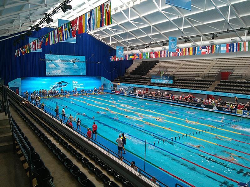 Campeonato mundial de natación junior en Indianápolis con Premium Madrid