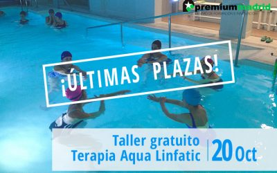 Taller gratuito Aqua Linfatic