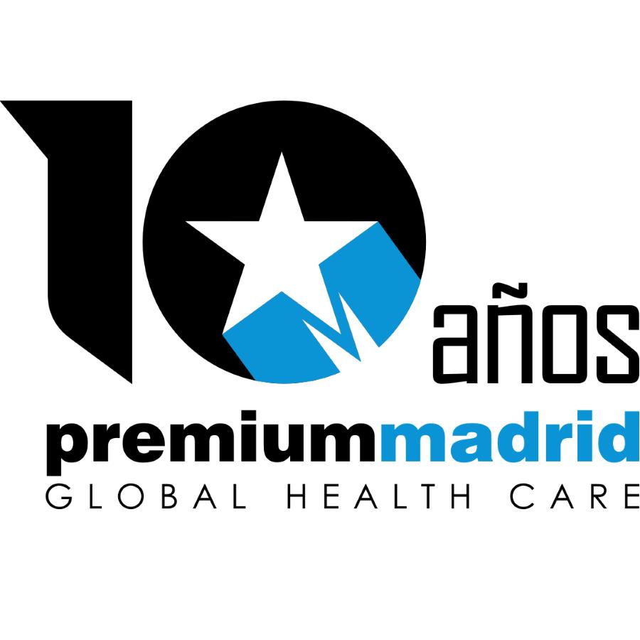 Logo 10 aniversario Premium Madrid