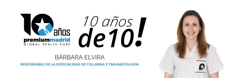 Premium Madrid, 10 años de 10: Especialidad de columna y traumatología