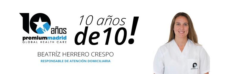 Premium Madrid 10 años de 10: Fisioterapia a domicilio