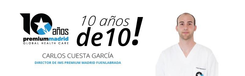 Premium Madrid 10 años de 10: Rehabilitación, fisioterapia, podología, psicología y pilates en Fuenlabrada