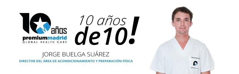 Premium Madrid 10 años de 10: Área acondicionamiento físico y salud