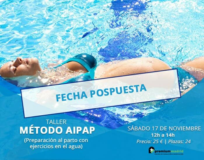 Taller MÉTODO AIPAP: Preparación al parto con ejercicios en el agua