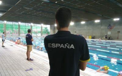 PremiumMadrid Concentración con la selección junior natacion