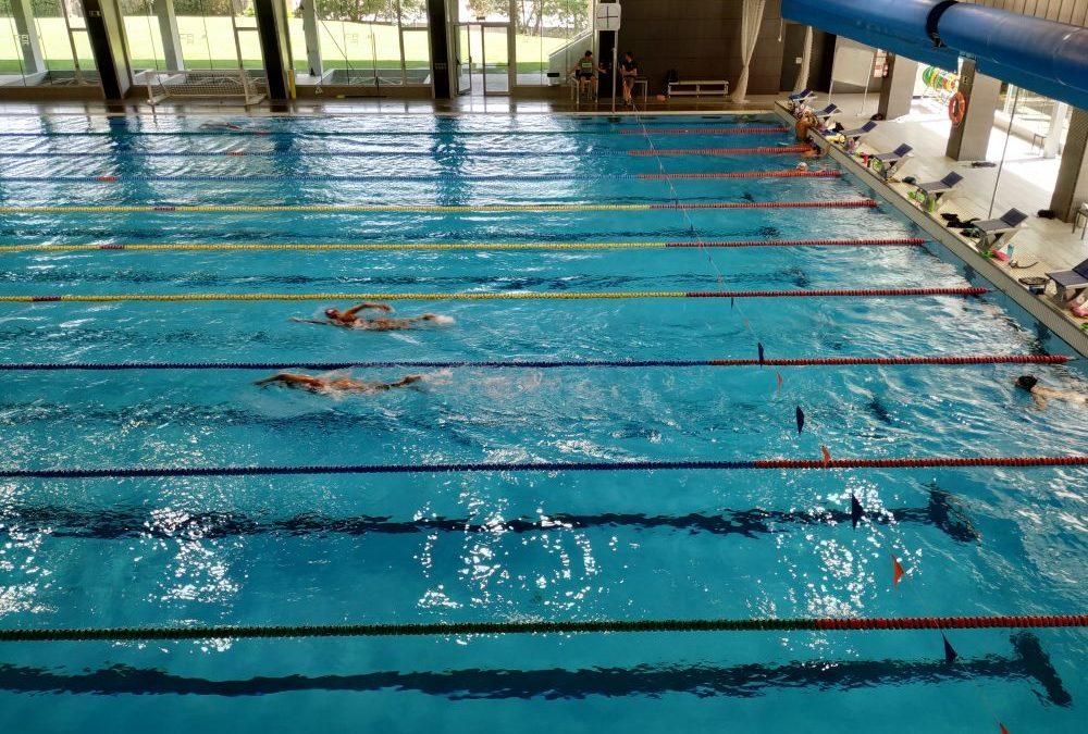 Premium Madrid en la concentración del equipo nacional de natación junior