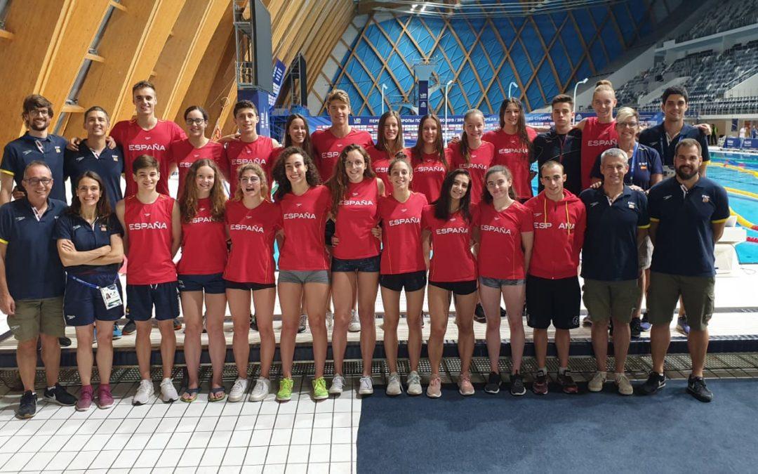Premium Madrid, en el campeonato de Europa Junior de Natación Kazán 2019