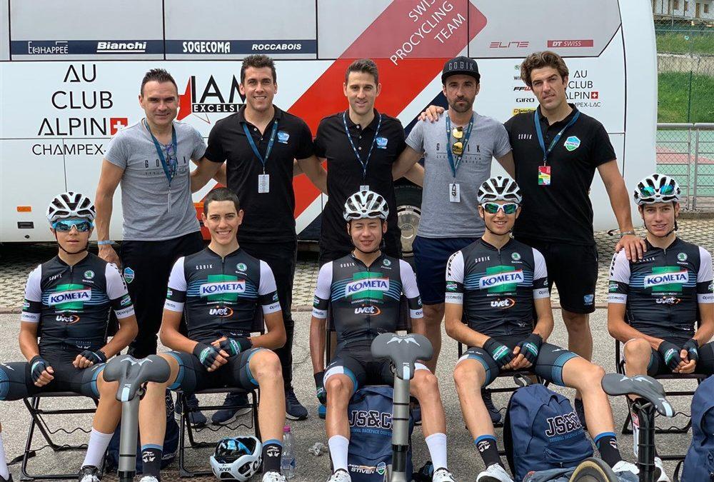 """Premium Madrid con el equipo Kometa Cycling Team sub23 en el """"Giro Baby"""""""