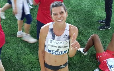 Irene Sánchez-Escribano - reinauguración estadio Vallehermoso
