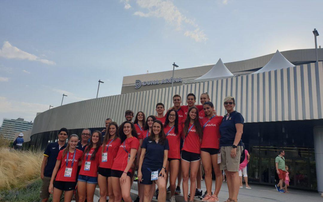 Finalizó el campeonato del mundo junior de natación y Premium Madrid estuvimos allí