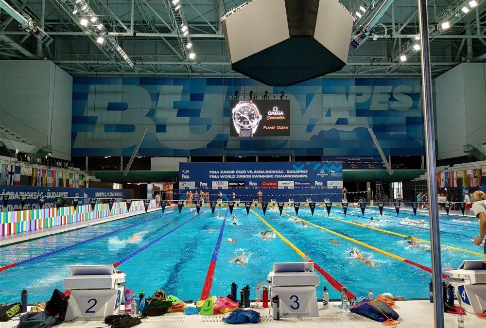 Premium Madrid, en el campeonato del mundo junior de natación de Budapest 2019