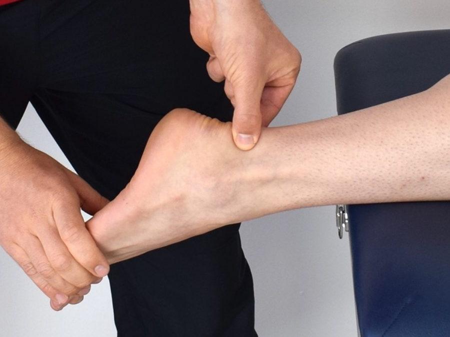Caso clínico podología: Tendinitis aquílea