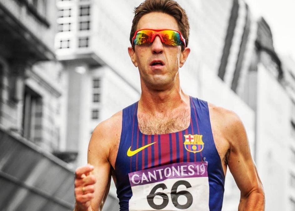 José Ignacio Díaz, ante el reto de participar en el mundial de atletismo de Doha