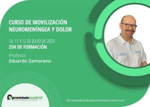 curso movilizacion neuromeningea dolor