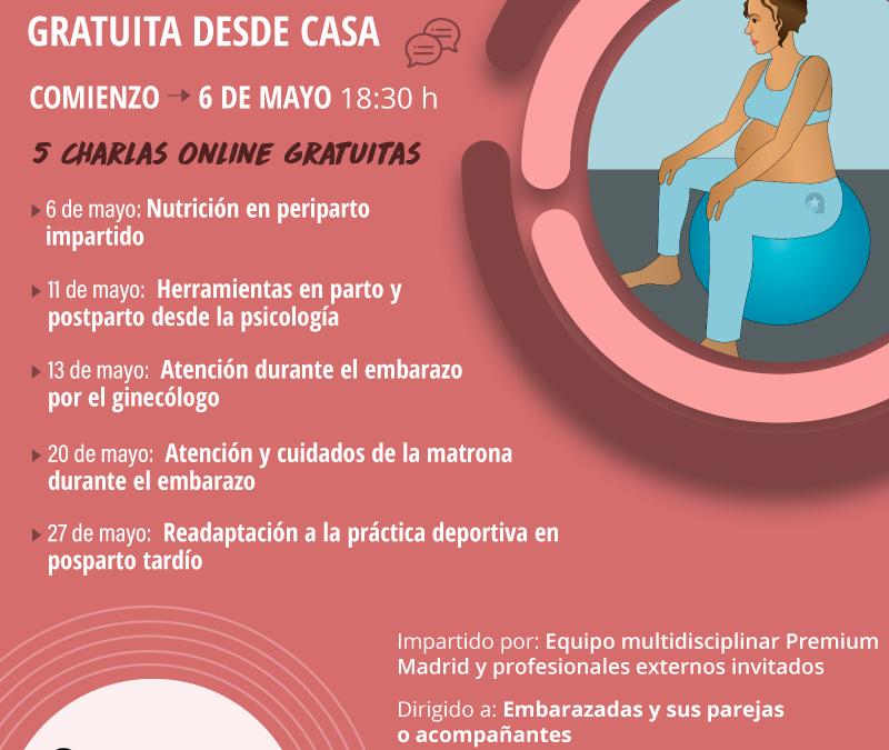 Preparación al parto gratuita desde casa