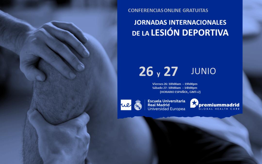 Jornadas internacionales de la lesión deportiva – Premium Madrid