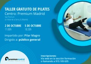 Taller Pilates Premium Madrid