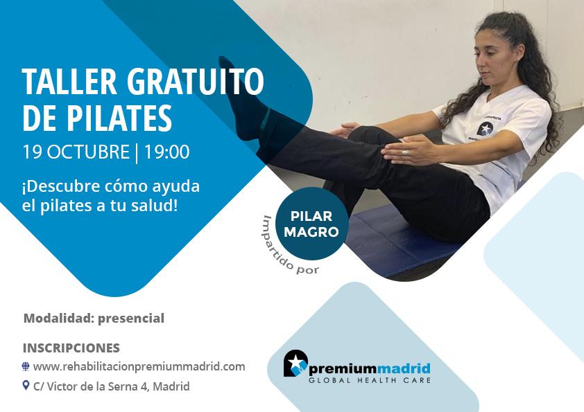 taller gratuito pilates madrid